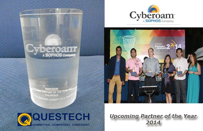 cyberoam award for QTC
